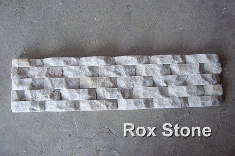 wave shape White Quartzite Stone