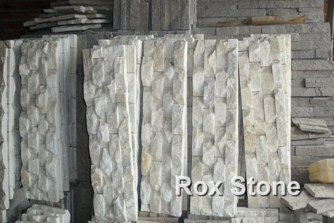 Beige White Quartzite factory manufacturer