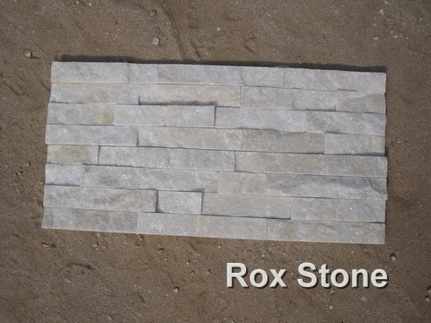 White Quartzite glued veneer