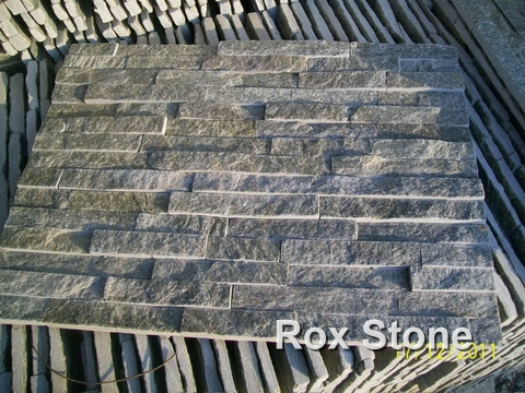 Green Quartzite Cultured Stone 60x15cm Panel