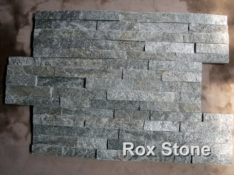 Green Quartzite Cultured Stone Panel