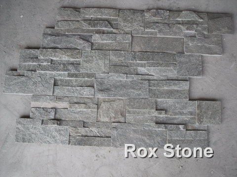 Green Quartzite Cultured Stone Veneer s type