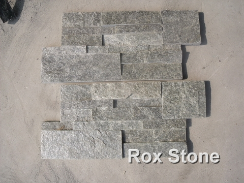 Green Quartzite Cultured Stone Veneer corner