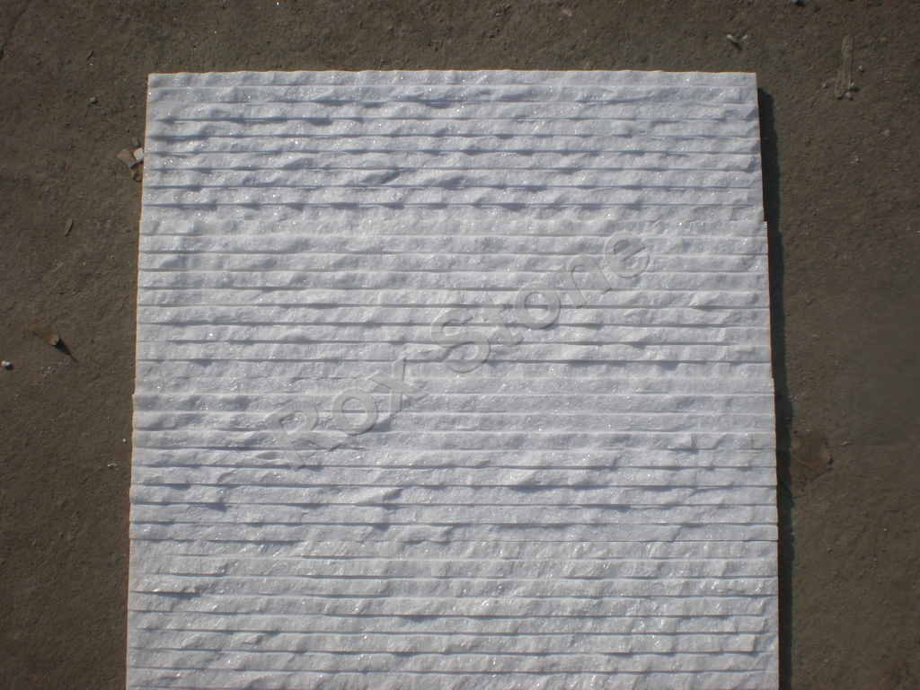 Statuario White Marble Wall Cladding : Mixed color quartzite natural stone manfacturer and