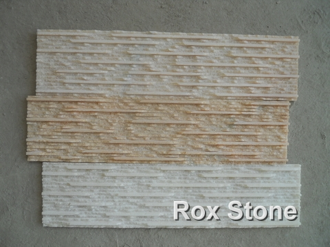 Pulled ditch Quartzite & Marble Wall Cladding Stone