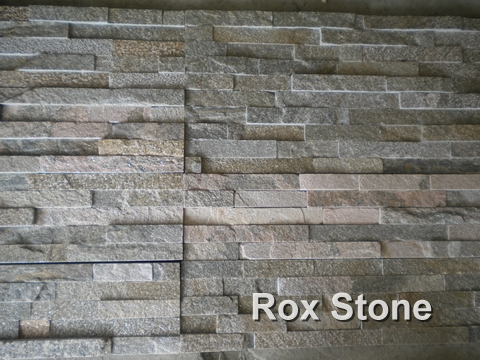 Pink Quartzite Cultured Stone 60x15cm Panel