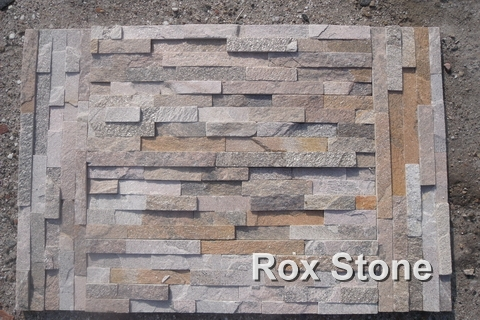 Pink Quartzite Cultured Stone factory