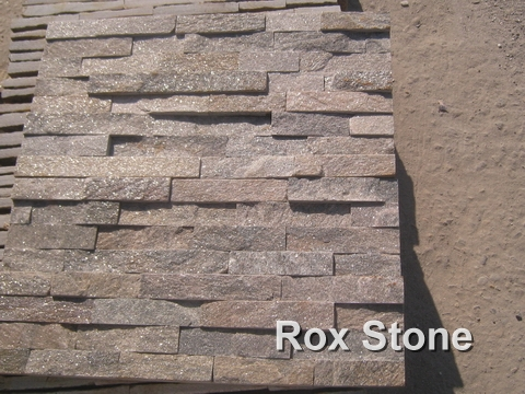 Pink Quartzite Cultured Stone 60*15cm