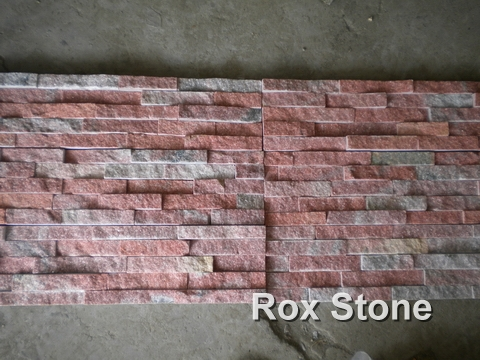 Red Quartzite Cultured Stone factory