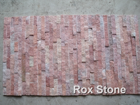 Red Quartzite Cultured Stone manufacturer