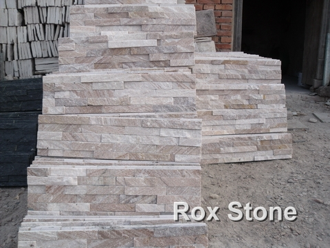 Sliver Quartzite Wall Cladding Stone
