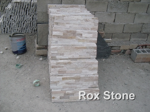 Sliver Color Quartzite Ledge Wall Cladding Stone