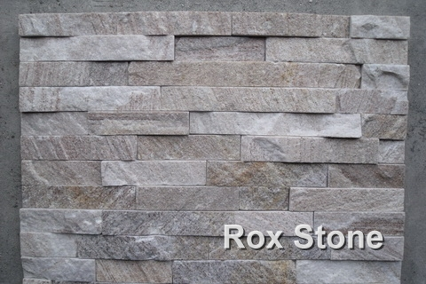 Quartzite Sliver Cultured Stone 60*15cm Bricks