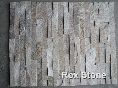 Sliver Quartzite Cultured Stone Panel