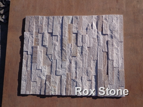 Sliver Quartzite Cultured Stone 60*15cm