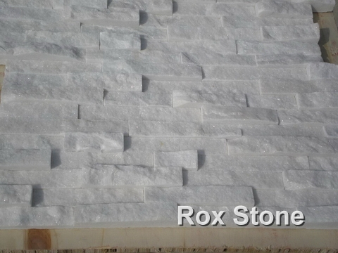 White Quartzite cultural cladding stone