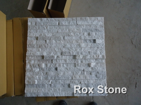 White Quartzite Stone cladding veneer