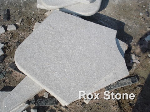 Good Quality White Quartzite Stone