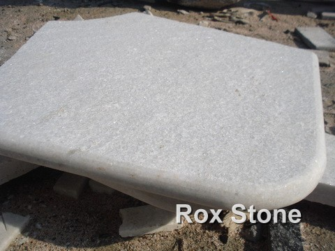 White Quartzite Tiles Standard Thickness