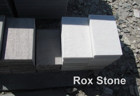 honed surface White Quartzite Tiles