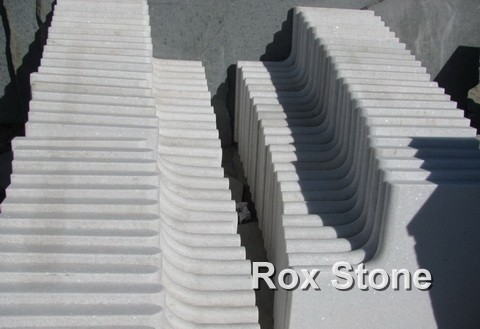 White Quartzite small Tiles