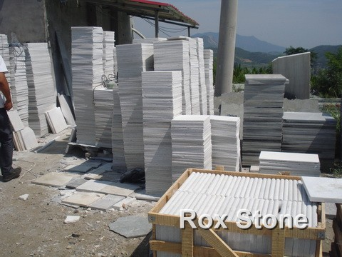 Natural Quartzite Tiles White Color