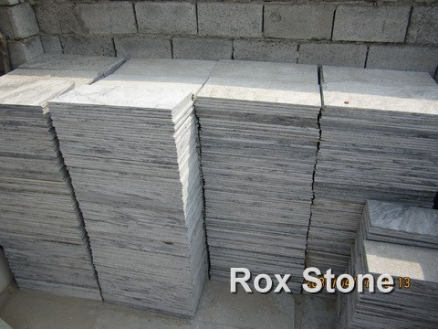 Green Quartzite Stone Workshop