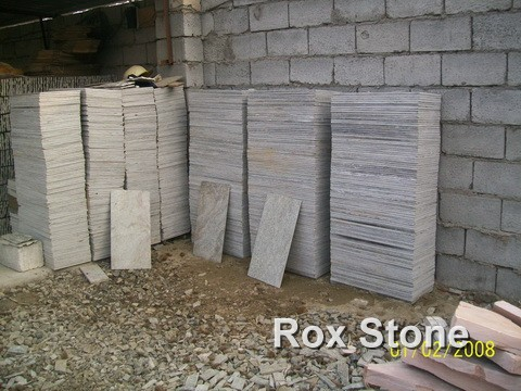 Green Quartzite Stone Tiles