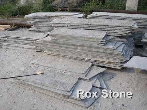 Green Quartzite Slabs Flamed Surface
