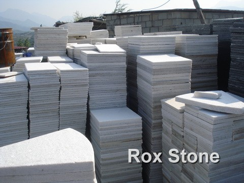 White Natural Quartzite Tiles Manufacturer