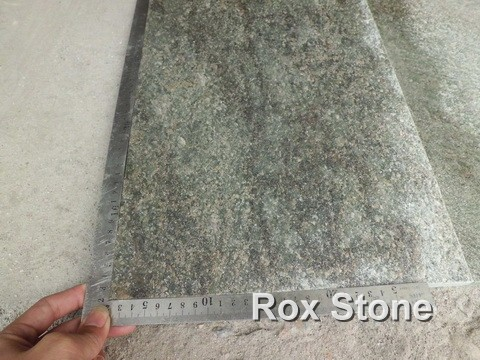 Green Quartzite Tiles In Stocks
