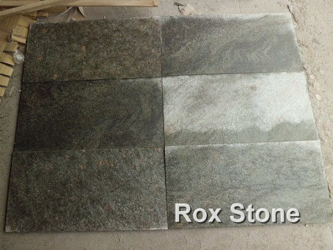 Green Quartzite small Tiles